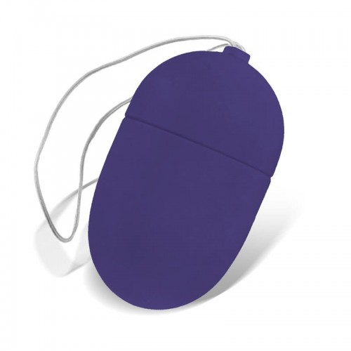 Moove Small Vibrating Egg With Remote Purple